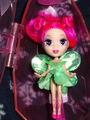 January Fairy 2 (morningk) Tags: doll dolls fairy fairies pixie pixies pink green pinkandgreen disney barbie