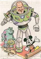 Steve Jobs, presidente de Pixar