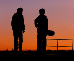 Skateboard Boyz - Red Hot version (JuanJ) Tags: new uk travel family wedding friends party vacation england favorite art beach me nature silhouette tag3 taggedout photoshop lumix photo interestingness amazing friend europe flickr tag2 tag1 cs2 unitedkingdom lovely1 yorkshire horizon great leeds picture panasonic explore photograph dreams skateboard fav skateboards favs fz fz30 mireasrealm 1on1halloffame silhouettephotography skateboarddreams