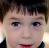 Timmy Up Close (JeffS) Tags: 2005 blue portrait closeup newjersey soft close blueeyes nj softfocus timmy tc28closeup tc56eyes