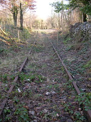End of The Line (Eifion) Tags: abandoned wales rust track rusty railway line derelict trawsfynydd