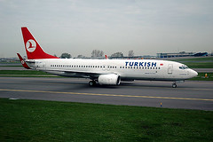 Turkish Airlines 737-800 TC-JFT.