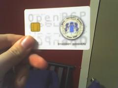 My OpenPGP smartcard