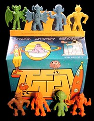 McDonald's Happy Meal Box & Space Aliens Set (Neato Coolville) Tags: toy eraser mcdonalds monsters creature happymeal spacealiens