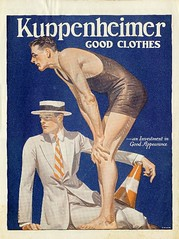 J.C. Leyendecker Kuppenheimer Ad - Diver (Mamluke) Tags: old blue 2 summer two chicago male men azul illustration swimming vintage advertising clothing blauw artist nu blu alt sommer pair ad tie nackt anuncio advertisement clothes bleu dos verano deux jc mann diver blau été swimsuit viejo publicité investment oud zwei hombre hommes cru appearance illustratie männer vieux homme stuie hombres megaphone vecchio ilustración leyendecker mensen vendimia uomini boater illustrazione 男性 annata uralt abbildung mamluke kuppenheimer reklameanzeige jcleyendecker wijnoogst kuppenheimerclothing thehouseofkuppenheimer