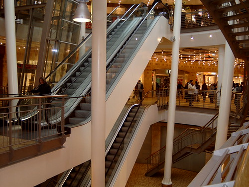 Kalvertoren Shopping Center in Amsterdam, Netherlands