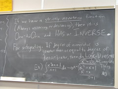 Calculus tutoring (uhhey) Tags: school notes math calculus chalkboard