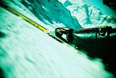 Movement (zwieciu) Tags: sport tag3 taggedout schweiz switzerland lomo lca xpro tag2 tag1 skiing cross suisse dynamic processing zermatt top20lomo top20xpro top20sports