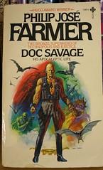 Doc Savage bio (Eclipse Pics (ncient)) Tags: sf 20d canon book scifi docsavage pulp bookcover biography pjf philpjosefarmer pulphero lesterdent
