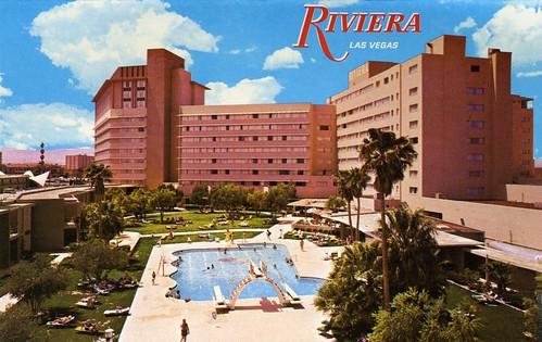 The Riviera Hotel Casino 1967 - Las Vegas
