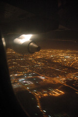Fly Like an Eagle (caribb) Tags: 2005 travel flying northwest montreal detroit flight aerial february americaneagle americanairlines aa dtw yul erj85
