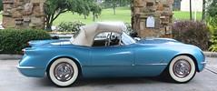 1954 Corvette (Bill Jacomet) Tags: camp lake classic golf memorial day houston 1954 foundation tournament lone walden 40 corvette 54 base survivor on 2015