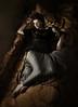 Lady Emily... (martikson) Tags: light portrait bird lady dark hazelgrouse martikson