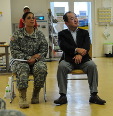 Marvelous ... The Power Comes From The Inside:U.S Army Japan Connects With Nissan  Community