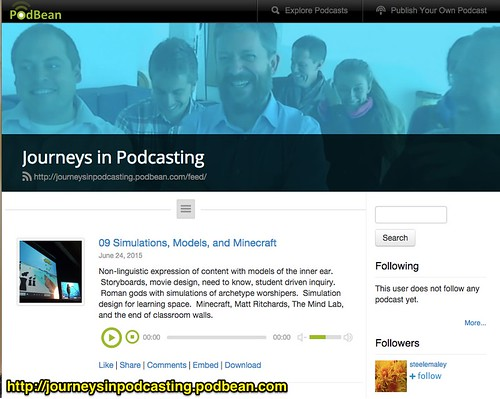 Journeys in Podcasting Project by Wesley Fryer, on Flickr