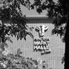 Rindermarkthalle St Pauli (loop_oh) Tags: logo hamburg steak markt hafen brand stpauli nordsee halle elbe hansestadt fleisch markthalle schanzenviertel hansestadthamburg rindermarkthalle