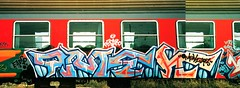 Omaek193 - DSP - Pesaro (omaek193) Tags: train graffiti treno pesaro nineties padova dsp 193 omek omaek193 dspcrew omaek