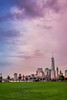 Colors in the Sky (Marchelo13) Tags: sunset newyork tower colors freedom newyorkskyline manhattanskyline freedomtower manhatta newyorksunset