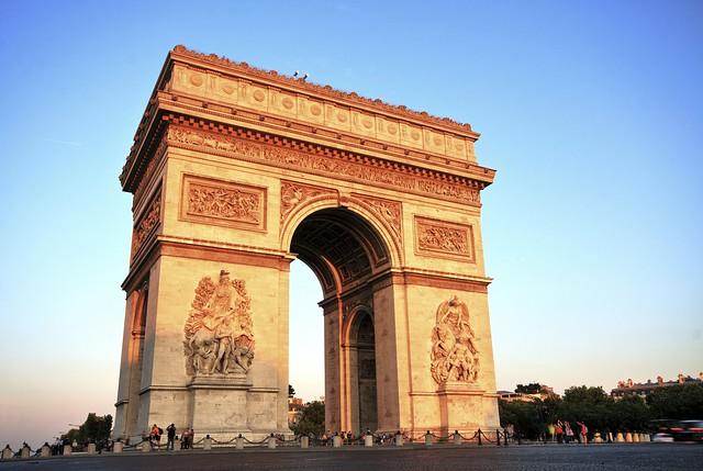 パリ市内観光(パリ発のオプショナルツアー)