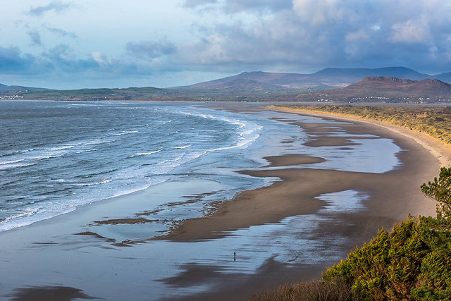 Harlech Beach and Sand Dunes