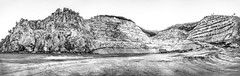 Cantera de Mijas (Jose Mara Ruiz) Tags: espaa white black blancoynegro blanco stone spain rocks negro andalucia andalusia malaga quarry cantera rocas mijas piedras marmol marmo blackorwhite