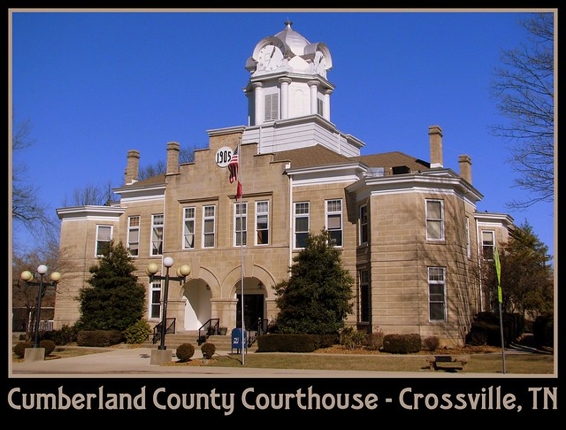 For Sale: TN Courthouse Postcard Collection: Cumberland