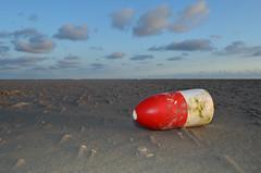 Vlieland - Vliehors - noordwestenwind 4 bft. (Dirk Bruin) Tags: strand la vlieland boulogne crab lobster kanaal float manche buoy fishery beachcombing boei visserij markering vliehors strandjutten drijver buoyant jutten aanspoeling jutterij strandvondst yearend15