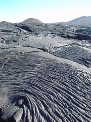 Lava flow, Galapagos