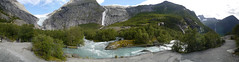 Glaciar Briksdal Panorama (Ana >>> f o t o g r a f  a s) Tags: norway norge norwegen glacier noruega scandinavia glaciar jostedalsbreen noorwegen briksdalsbreen escandinavia norwegia briksdal briksdalglacier geo:region=europe potd:country=es