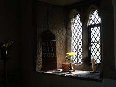 Gwaenysgor window (Richard Holland) Tags: window pane gothic church flintshire gwaenysgor