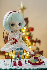 Merry Christmas! (Brie G.) Tags: dal maretti dalmaretti doll junplanning obitsu sylvanianfamilies calicocritters chocolaterabbit bunny christmas