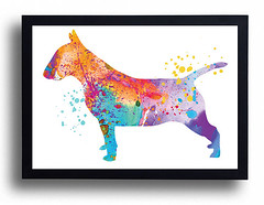 Bull terrier Watercolor Art Print Bull terrier painting Dog Watercolor Home Decor Bull terrier poster Children Boy room Nursery Giclee puppy (bogiartprint) Tags: artandcollectibles prints giclee nurserydecor watercolordog animalwatercolor dogpainting dogposter childrendecor bullterrier bullterrierart terrierwatercolor littledog nurseryboy dogwatercolor watercolordecor