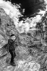 They Grown Up so Fast (Bravo Fotografia) Tags: kids baby babies kid boy mountain sky mexico zacatecas bufa bw bnw