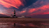 """Under a Crimson African sky""~ (swazileigh/ Langman Lightscapes) Tags: caperecife lighthouse caperecifelighthouse naturepreserve naturereserve sunset sky clouds sand beach reflection crimson pink blueskies portelizabeth southafrica easterncape capeprovince beachscape landscape landscapephotography peninsula nikond800 nikon travel besttraveldestination googleimages yahooimages voyagetravellingreise"