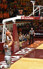 JUSTIN ROBINSON (SneakinDeacon) Tags: vt vatech hokies virginiatech cassellcoliseum basketball hawks marylandeasternshore