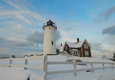 Happy Snow Day!! (guarnc) Tags: snow massachusetts nobska lighthouse cod cape hole woods