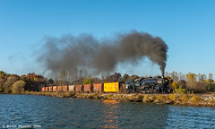 Southbound to Beaver Dam (kdmadore) Tags: steamlocomotive steam soo1003 soo train railroad wisconsinsouthern wsor mikado sooline steamengine