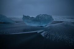 Black Ice (a.lee.miller) Tags: ifttt 500px glacier iceland sveitarfélagið hornafjörður lagoon black sand beach water no person sea landscape nature outdoors seashore ocean sunset sky travel ice frozen winter seascape