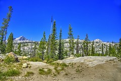 The Embarkation Point (jimgspokane) Tags: idahostate mountains backpacking forests trees otw