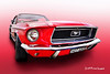 68 Ford Mustang (BrettMichaels Images) Tags: f28 5d car custom cars hotrod hotrods tokina 1116mm canon
