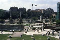 1982 04 03 Lazio - Roma - Fori Imperiali_017 (william.ferrari1956) Tags: foriimperiali lazio roma