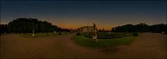 An unbelievable silence (Lato-Pictures) Tags: castle schloss park nordkirchen outdoor sonnenuntergang sunset stille panorama pano