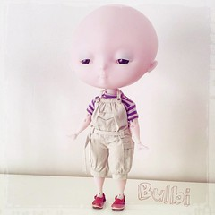 Little Bighead (aneemal) Tags: bjd balljointeddoll doll balljointed articulated figurine toy arttoy designer design custom customdoll ooak ooakdoll hybrid heartstrung bulbi resin dollmaking dollmaker artdoll sculpt wip harucasting handmade handmadedoll bighead big head cute newdoll kawaiidoll animedoll manga collector collection