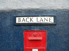 ... Back Lane Post Box  ... Red Close-up No People Outdoors Day Postal Victorian Vr Blue Wales Newtown Powys Uk British Britain United Kingdom Street Name Street Name Sign Going Postal Street Name Lane Box Victoria Regia (Linandara) Tags: backlane postbox red closeup nopeople outdoors day postal victorian vr blue wales newtownpowys uk british britain unitedkingdom street name streetnamesign goingpostal streetname lane box victoriaregia