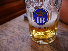 Hofbrauhaus is queit an institution in Munchen!