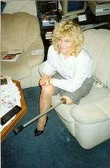 amp-1227 (vsmrn) Tags: amputee woman crutches onelegged pegleg