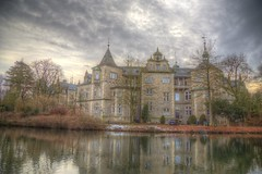 Stately home (blavandmaster) Tags: winter deutschland himmel clouds ciel duitsland castle landschaft janvier niedersachsen architektur sonnenuntergang storybook wolken handheld 24105 photomatix christiankortum canon 2017 januar landscape tyskland wasser water happy colours processing sunset hdr germany beautiful lovely interesting harmonic awesome light hiver architecture complete eos6d chateau weserrenaissance allemagne perfect nuages eau january sky schloss