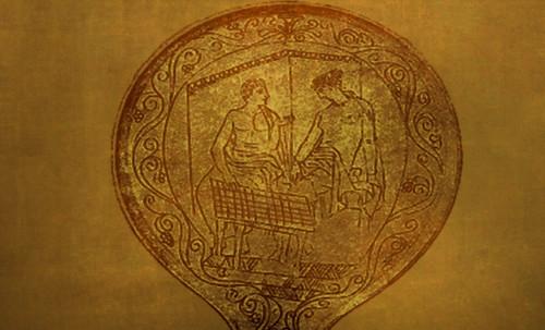 "Petteia - Ludus Latrunculorum  / Iconografía de las civilizaciones helenolatinas • <a style=""font-size:0.8em;"" href=""http://www.flickr.com/photos/30735181@N00/32143092670/"" target=""_blank"">View on Flickr</a>"