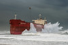 Pasha Bulka Evacuation (robertdownie) Tags: beach clouds coast rough waves ship helicopter storm new australia south heavy wales newcastle stranded evacuation seas swell beached grounded bulka east low supertanker nsw panamax nobbys pasha mv drake extratropical cyclone