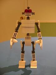 Lego Robot (tekmoc17) Tags: lego robot android cyborg blocks pab wall store